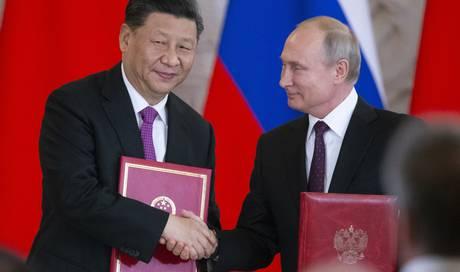 Annäherung in Moskau: Xi Jinping und Wladimir Putin treiben «globale Partnerschaft» voran