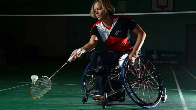 Früher spielte Karin Suter-Erath Rollstuhltennis, heute Parabadminton.