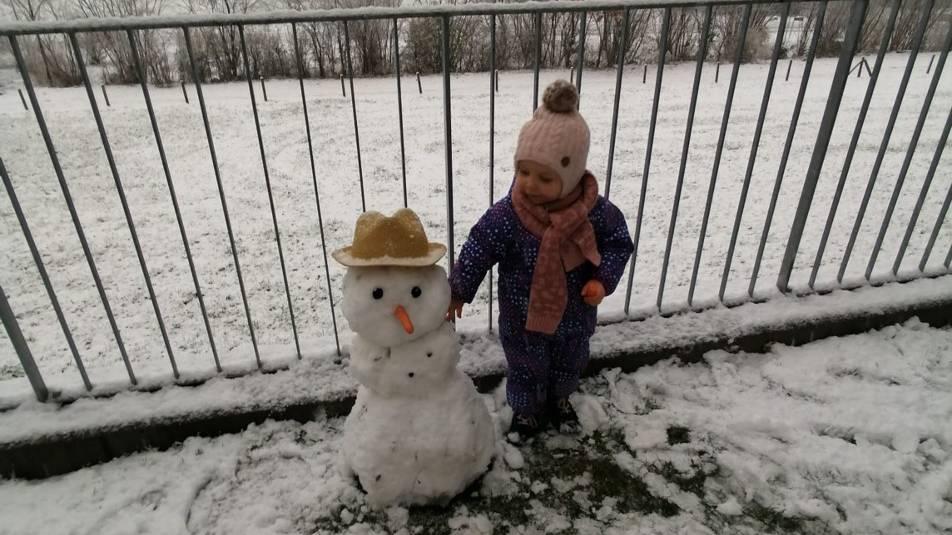 Frau Holle lässt es schneien in der Zentralschweiz