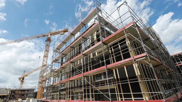 Auch starker Bauboom beim Wohnungsbau (Symbolbild)