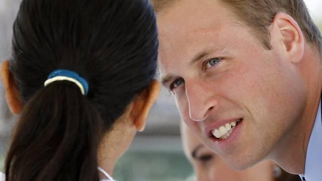 Scharf beobachtet: Prinz William (Archiv)