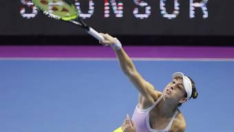 Ob Belinda Bencic am US Open aufschlagen wird, steht noch nicht endgültig fest.