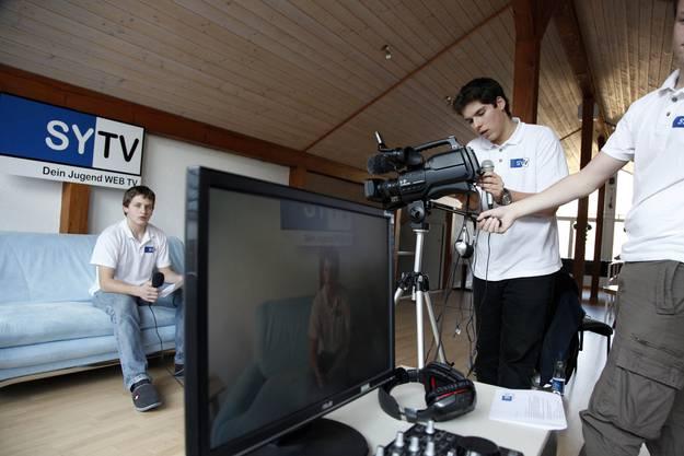 Das Schweizer Jugendfernsehen Swiss Youth TV hat ihren Standort nicht in Leutschenbach, sondern Biberist. (Fotos: Hanspeter Bärtschi)
