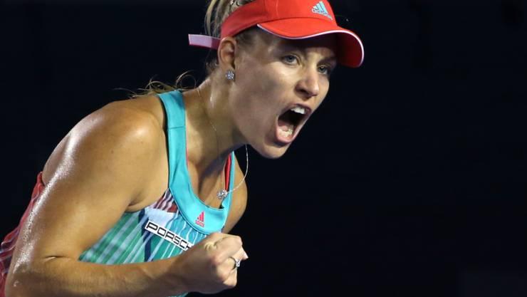 Sensation in Melbourne: Angelique Kerber bezwingt Top-Favoritin Serena Williams.