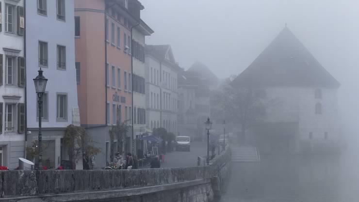 Solothurn im Nebel