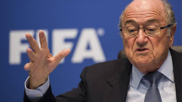 Joseph Blatter möchte mehr Afrikanische Teams an der WM.
