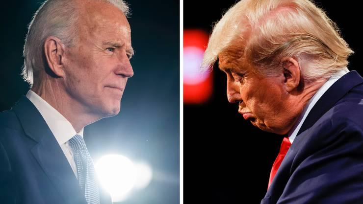 Nach Hochrechnungen von US-Medien ist das Rennen zugunsten von Joe Biden ausgefallen – Trump sieht das anders.