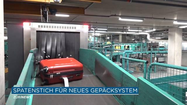 Flughafen Zürich: Erweiterung des Gepäckssystems