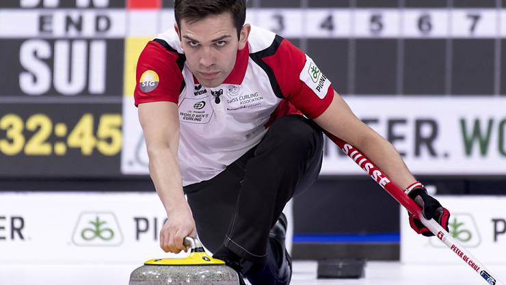 Skip Peter De Cruz zeigt mit seinem Team weiterhin Curling auf hohem Niveau