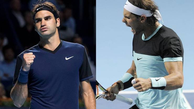 Federer gegen Nadal, ein geschichtsträchtiges Finale