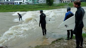 Auch in Basel sind die Auswirkungen des Dauerregens zu spüren