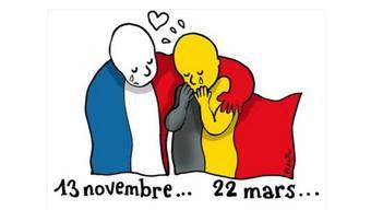 So drückt Plantu, der Karikaturist der Pariser Tageszeitung «Le Monde», sein Mitgefühl aus.