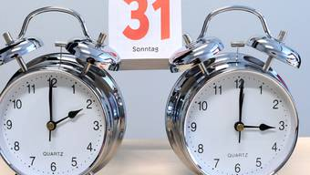 Möglicherweise zum drittletzten Mal werden die Uhren in Europa am Sonntag um 2 Uhr eine Stunde vor auf Sommerzeit gestellt. (Themenbild)