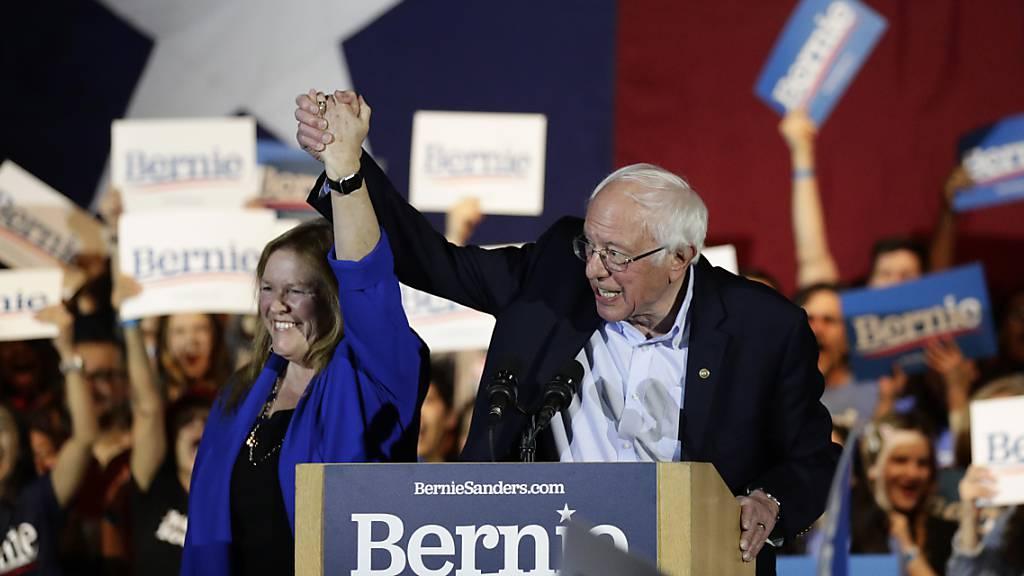 Sanders erzielt haushohen Sieg in Nevada