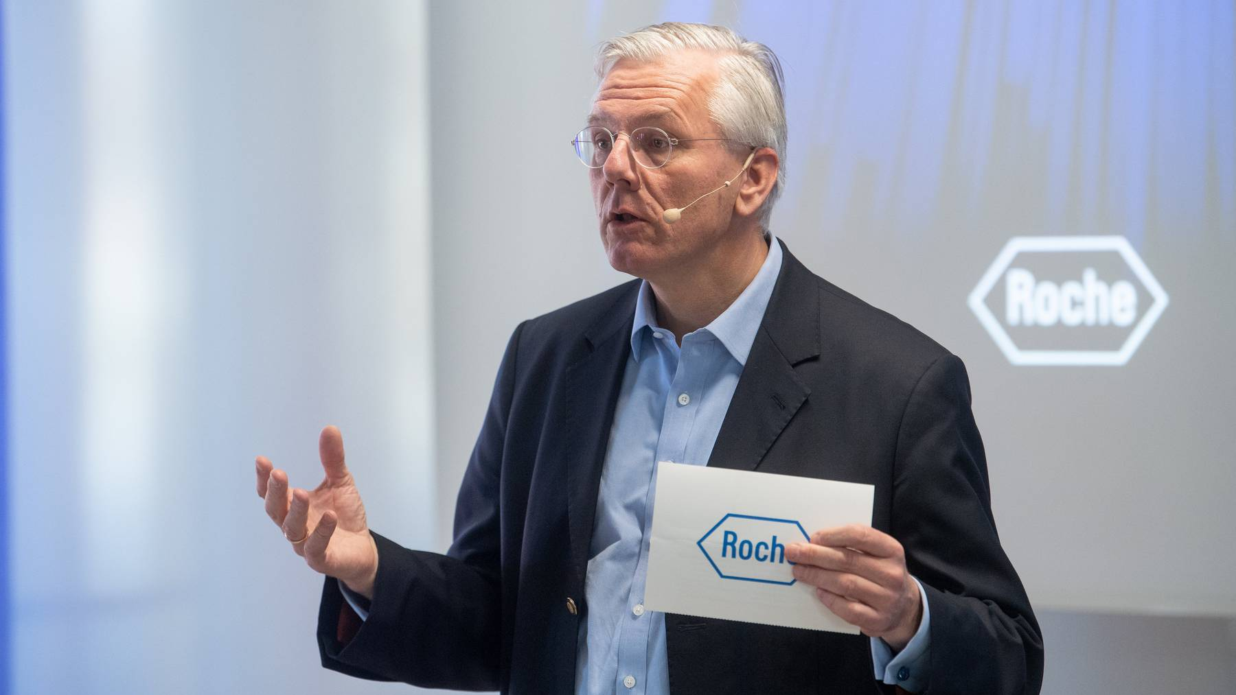 Roche-Verwaltungsratspräsident Christoph Franz.