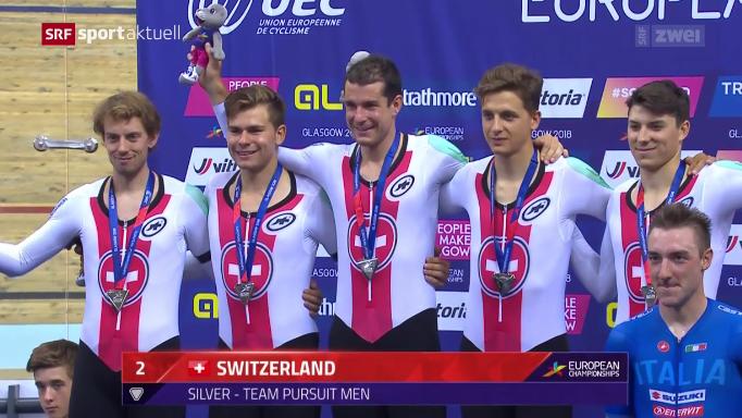 European Championships: Erste Medaillen für die Schweiz