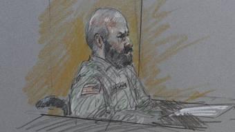 Nidal Hasan wird auf Fort Hood von einer Militärjury angehört