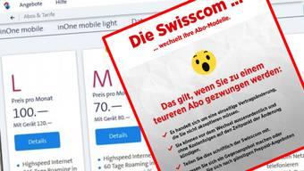 Wer von Swisscom zu einem teureren Abo gedrängt wird, kann den Vertrag einfach kündigen.
