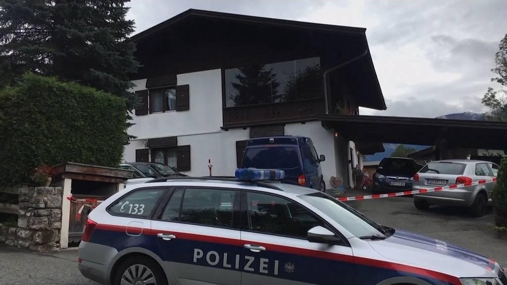 Täter stellt sich nach Fünffachmord in Kitzbühel
