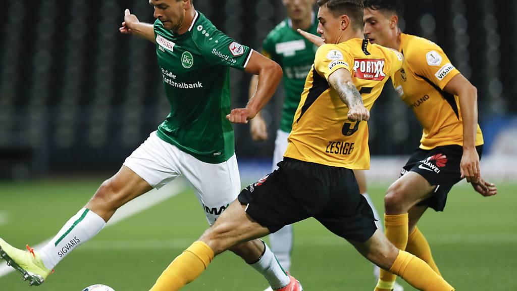 St. Gallen gegen YB: der Schlager in den Achtelfinals