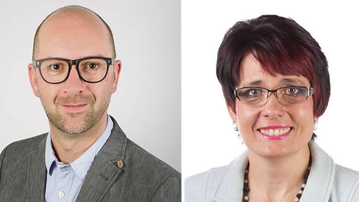 Philipp Schoch (Grüne) und Elisabeth Augstburger (EVP).