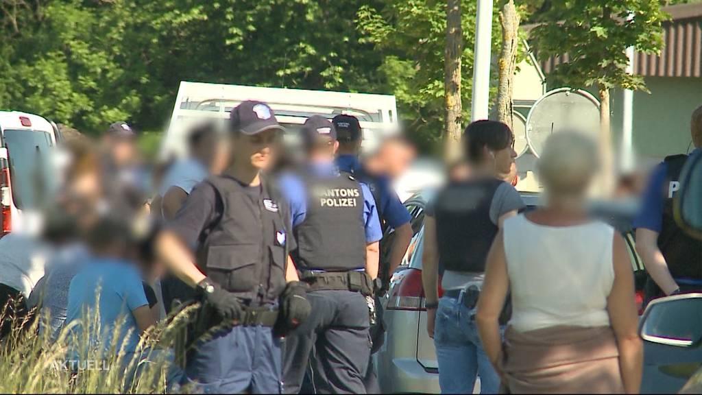 Streit unter Fahrenden endet mit Polizei-Grosseinsatz