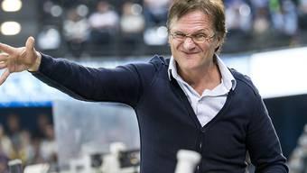 Klar unterlegen in Zug: HCD-Trainer Arno Del Curto rümpft die Nase