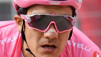 Richard Carapaz bleibt Leader im Giro