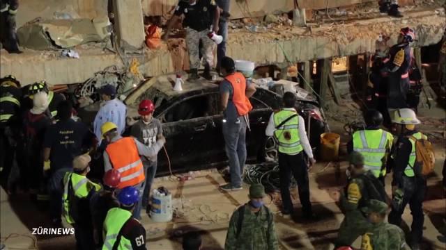 Mexiko: Die Zahl der Toten steigt