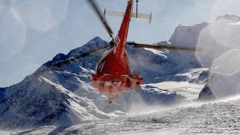 Helikopter konnte nicht am vorgesehenen Ort landen (Symbolbild)