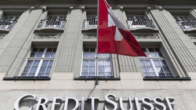 Die Credit-Suisse-Filiale am Bundesplatz in Bern (Symbolbild)