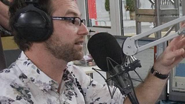 Nik Hartmann im Radiostudio (Archiv)