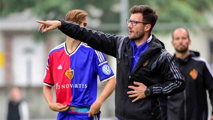 Kennt den Verein und arbeitet gerne mit Jungen: Raphael Wicky.