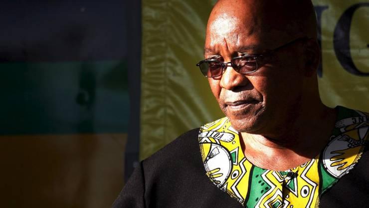 Die Amtszeit von Südafrikas Präsident Jacob Zuma läuft offiziell noch bis Mitte 2019. (Archivbild)