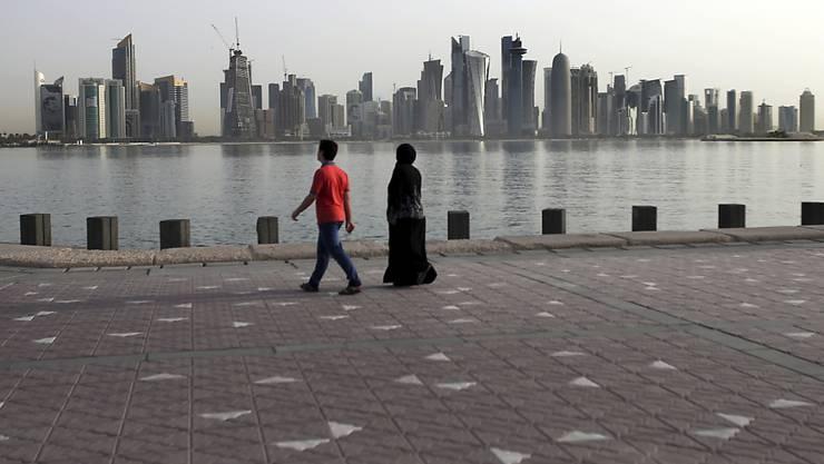 Hat für einmal mit Überschwemmungen zu kämpfen: Der Wüstenstaat Katar. (Symbolbild)