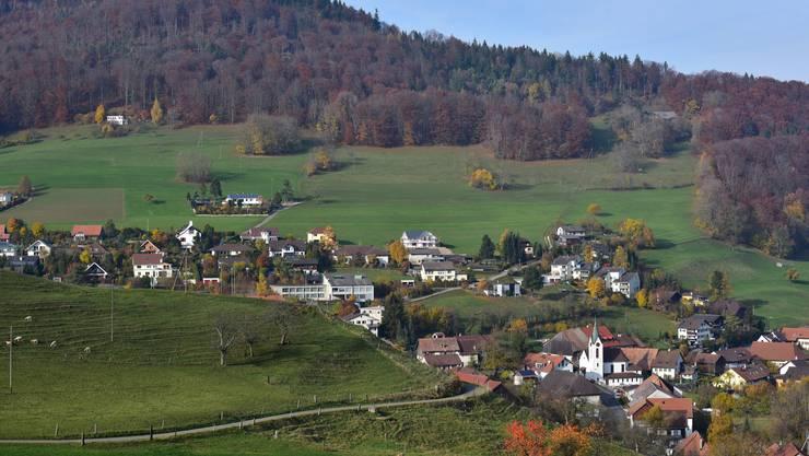 Blick auf die Gemeinde Wisen, wo am Montag die Gemeindeversammlung stattfand.