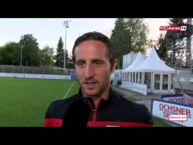 Sandro Burki über das 0:1