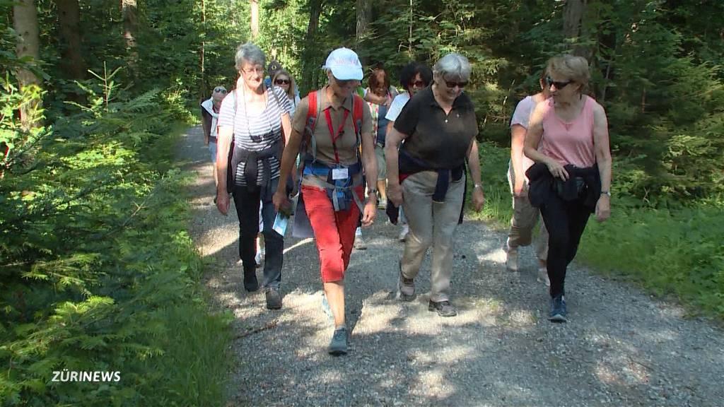 Lauftreff in Witikon hilft Senioren aus der Corona-Ödnis