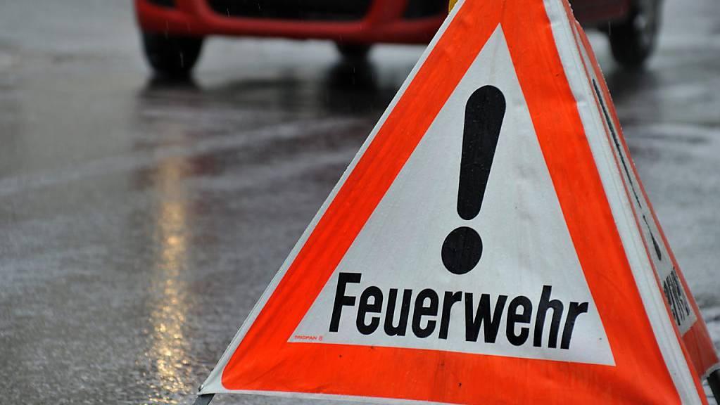 Neben der Feuerwehr waren auch Spezialisten der Chemiewehr wegen des Gasalarms in der Luzerner Innenstadt im Einsatz.