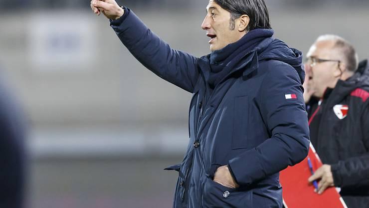 Für Murat Yakin und den FC Sion geht es aufwärts