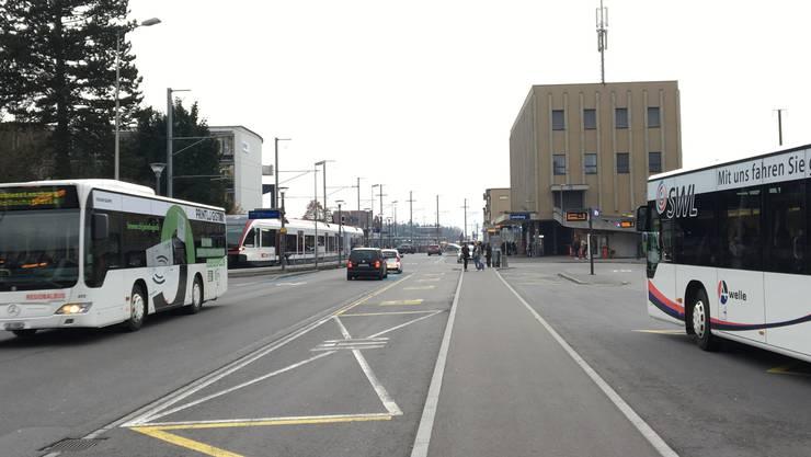 Bahnhof und Bahnhof-Umgebung werden sich markant verändern.