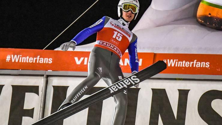 Simon Ammann hat in drei Weltcup-Springen noch keinen Punkt geholt