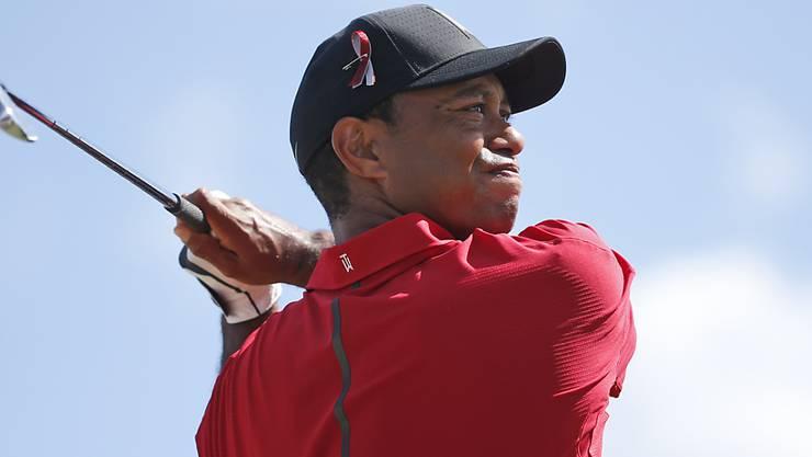 Tiger Woods spielt wieder mit einer gewissen Selbstverständlichkeit