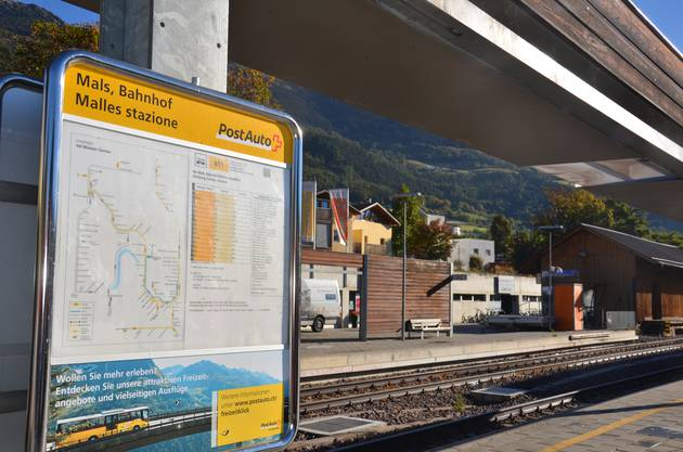 Hier begann alles: In Mals, Südtirol.