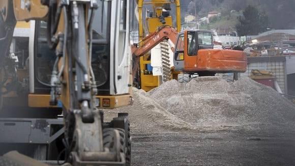 Die Tessiner Regierung beschloss die Schliessung der Baustellen.