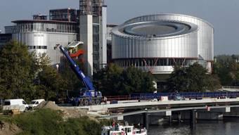 Blick auf den Europäischen Gerichtshof in Strassburg (Archiv)