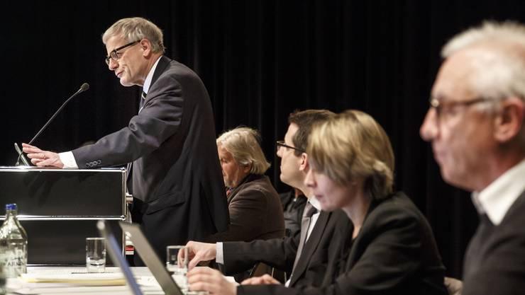 Kurt Fluri äusserte Vorbehalte gegen die Steuersenkung– vergeblich.  (Foto: Hanspeter Bärtschi)