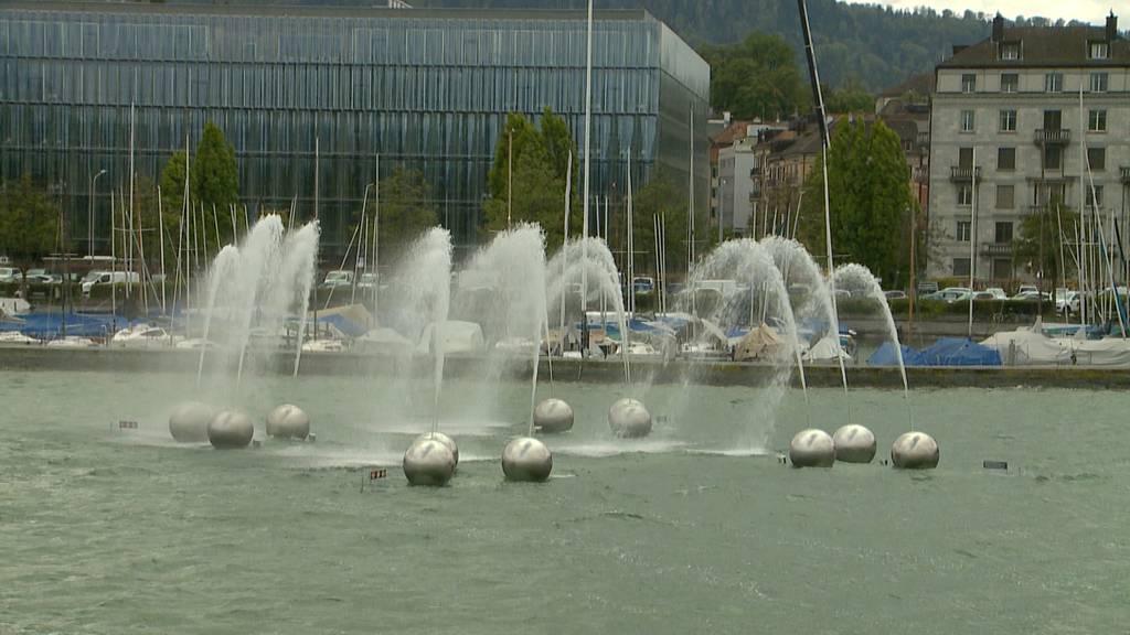 Seismographisches Wasserspiel eingeweiht