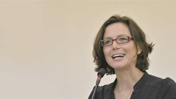 Gemeindepräsidentin Anita Panzer bekommt Hansjürg Geiger als Vize an ihre Seite. (Archiv)