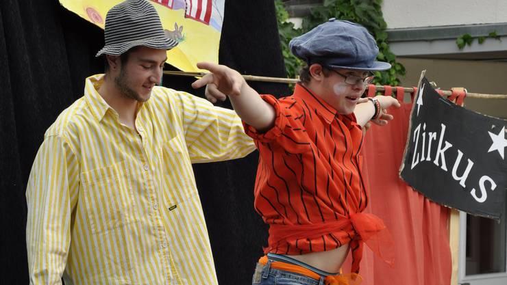 Die letztjährige Zirkuswoche auf dem Buechehof.